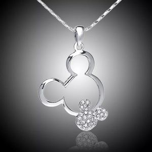 Jewelry - Silver Mickey Mouse Pendant Necklace
